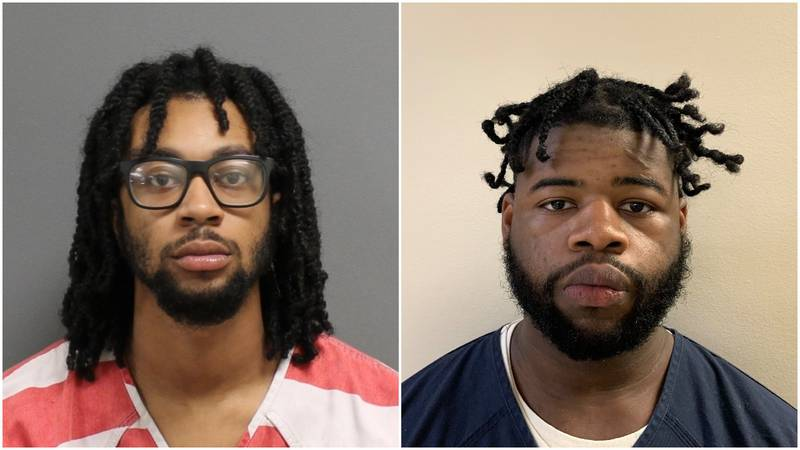 Alex Carmichael Williams (left) and Noah Booth were charged with first-degree murder in...