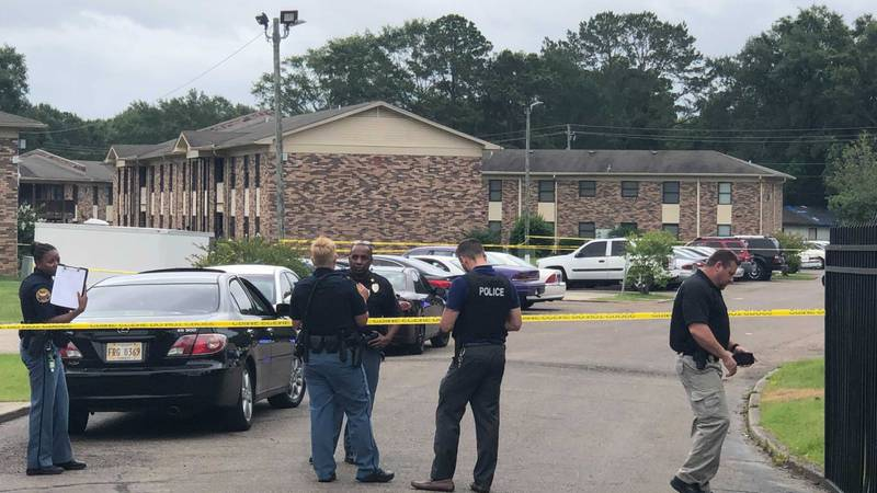 Police investigating a shooting on Country Club Road Friday afternoon.