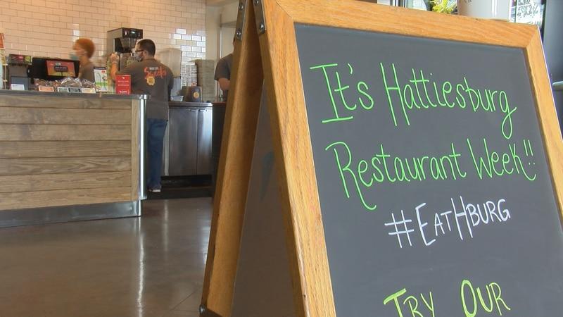 Hattiesburg Restaurant Week began on Oct. 2 and runs through Oct. 9.