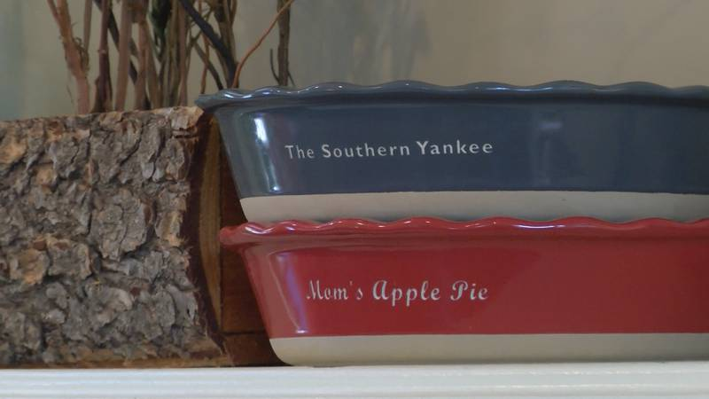 Locals say A Southern Yankee is not only known for its charm but its cinnamon rolls as well.