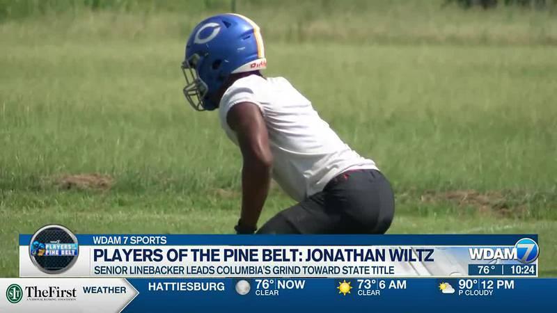Jonathan Wiltz, Columbia senior linebacker