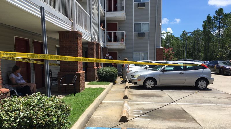 A law enforcement officer with Harrison County Sheriff's Department was shot outside an...