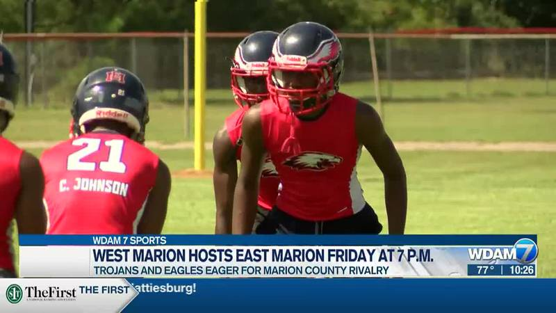 East Marion Eagles visit West Marion on Friday at 7 p.m.