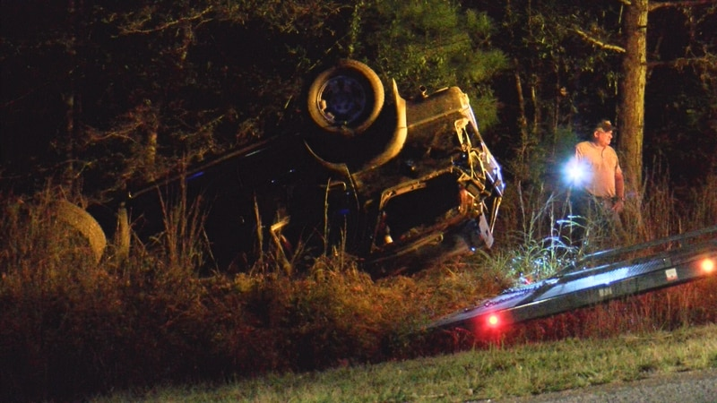 Emergency crews responded to the scene of an accident on Midway Church Road around 9 p.m....