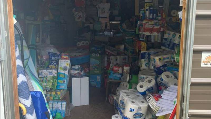 Covington County investigators found a storage shed loaded with thousands of dollars worth of...