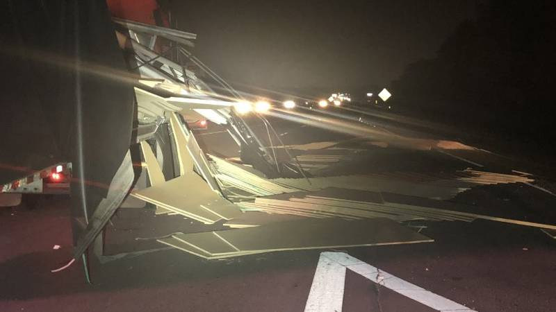 When units arrived, firefighters found the 18-wheeler and pickup truck blocking the eastbound...