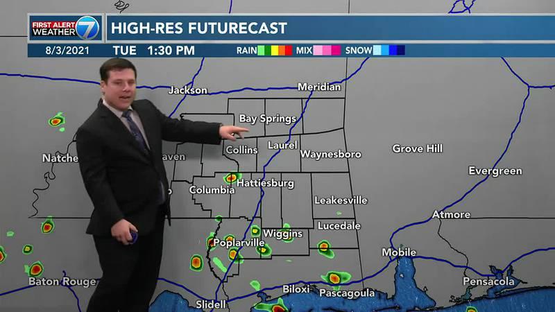 Patrick's Tuesday Forecast