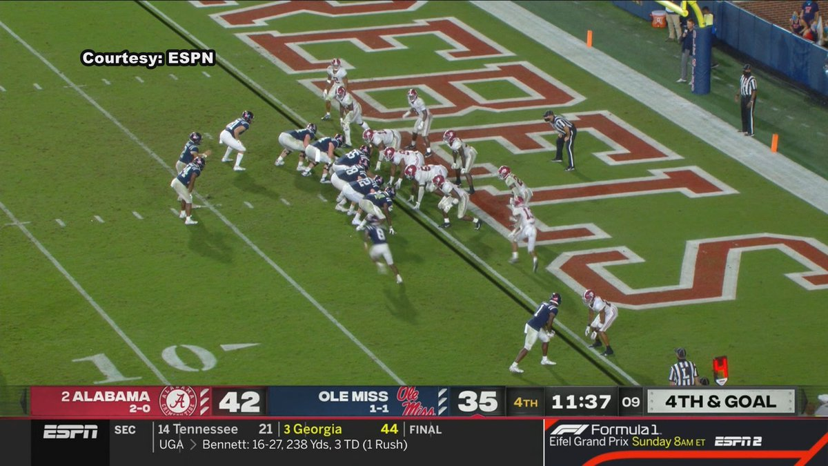 Ole Miss fell to Alabama in a 63-48 shootout on Saturday.
