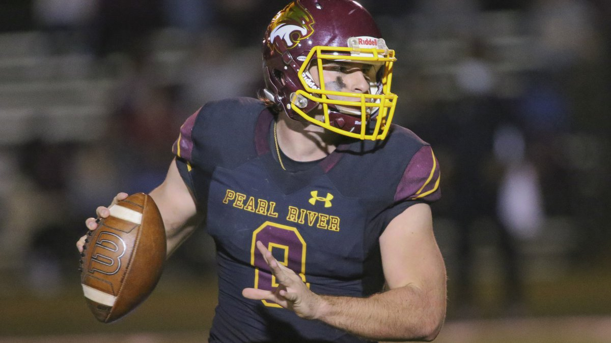 Pearl River Community College quarterback Jakob Greer accounted for 380 yards offense and three...