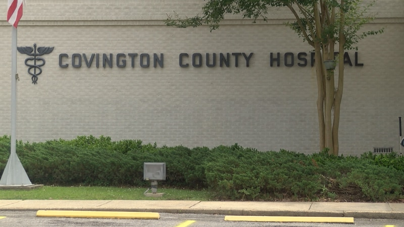 Covington County Hospital has seen a big increase in the number of positive tests for COVID-19...
