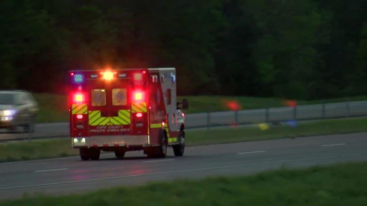 6 or 7 injured in I-55 crash