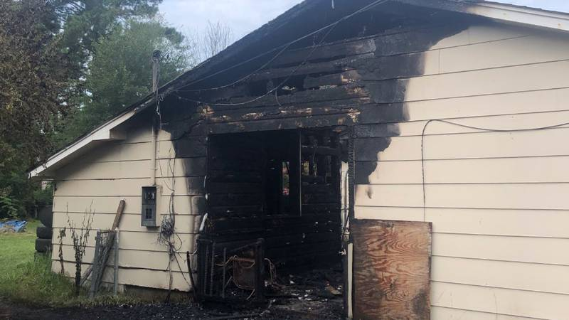 An early-morning Sunday fire heavily damaged a home in Petal.