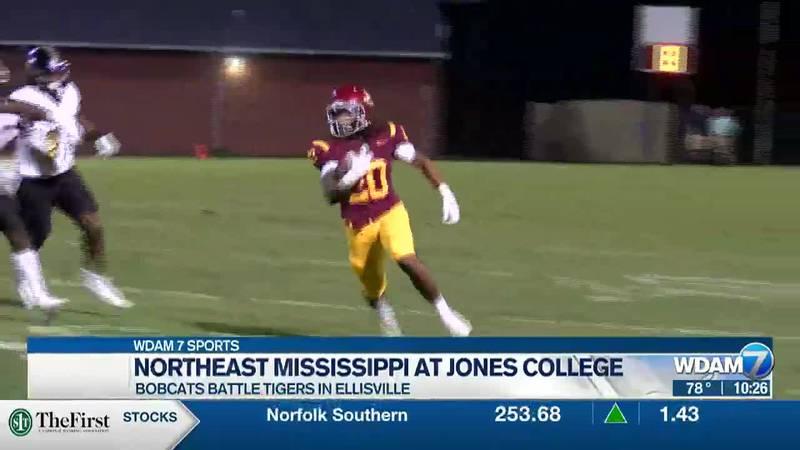 Jones College freshman running back Robert Henry (20).