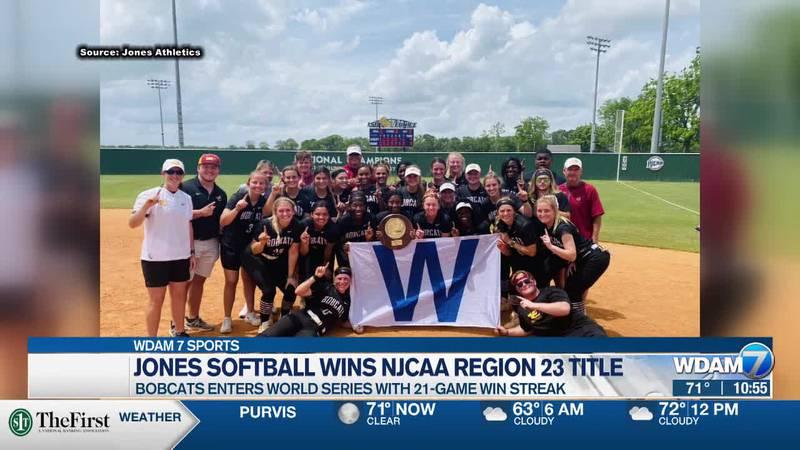 Jones College softball claims Region 23 championship