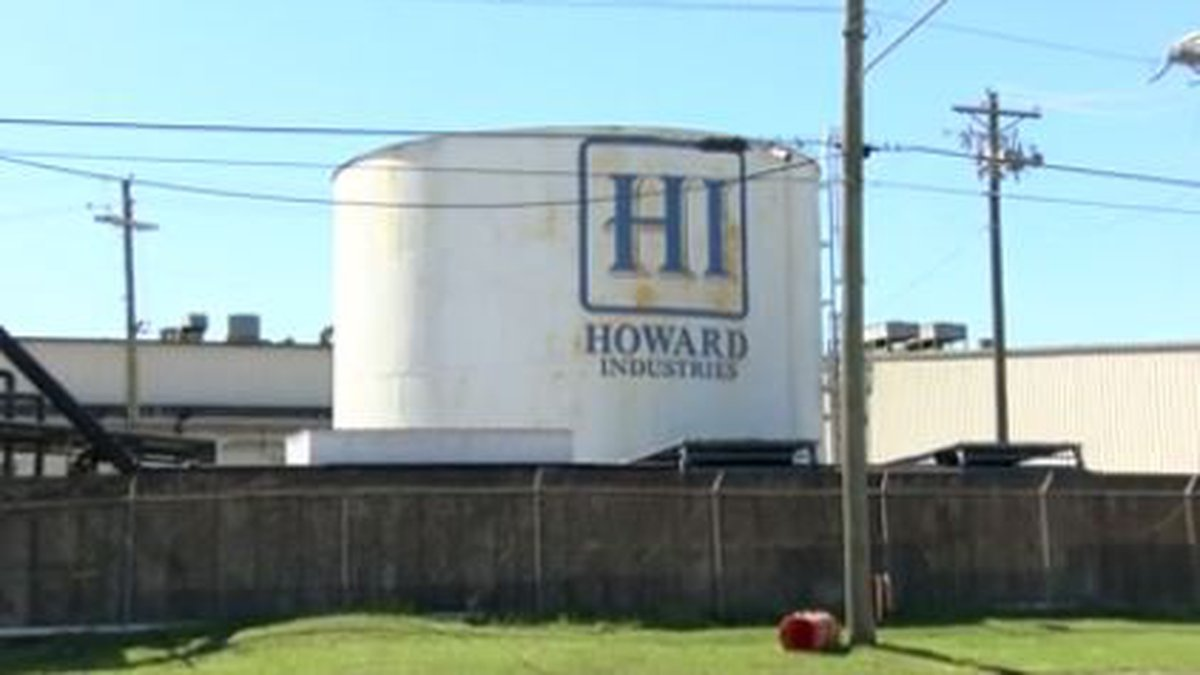 OSHA is investigating a workplace death at Howard Industries in Laurel.