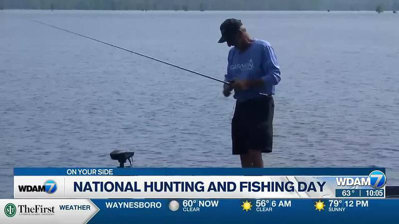 Congress created teh day to salute the outdoors and the folks who enjoy it.