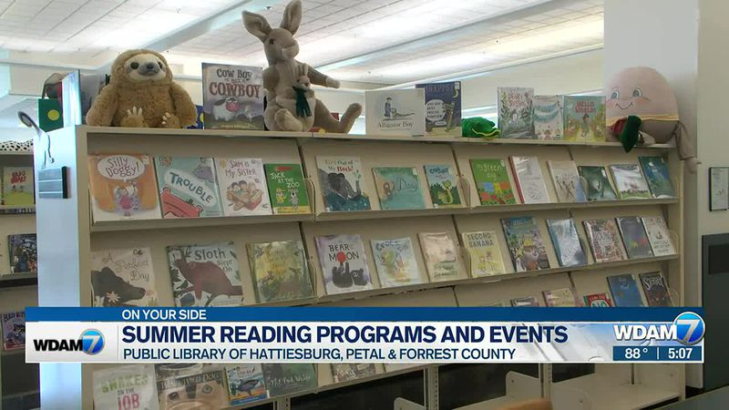 Summer reading for all ages kicks off at the library.