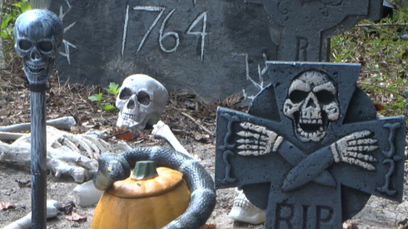 The haunted trial raises money for the county.