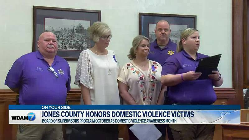 Jones County wants to try and help those affected by domestic violence