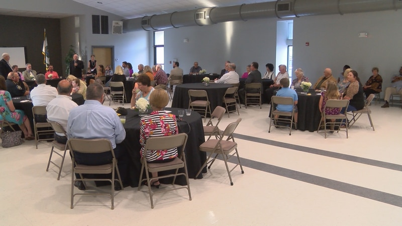A retirement party was held Thursday night at the Collins Civic Center for longtime alderman...