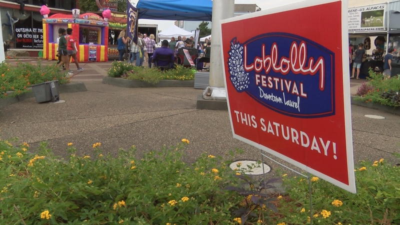 The annual Loblolly Festival was canceled in 2020 due to the pandemic.