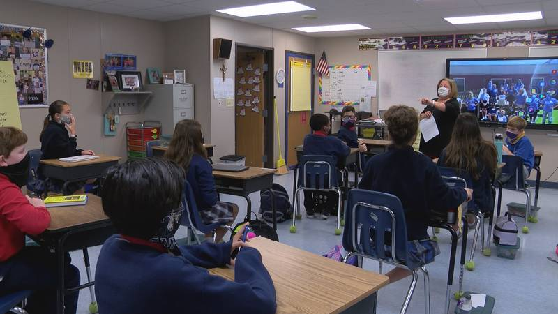 Sacred Heart Catholic School teacher Mrs. Theresa Moore is this year's Mississippi Historical...