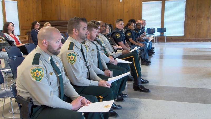 The week-long program educates the officers on various mental health issues facing many members...