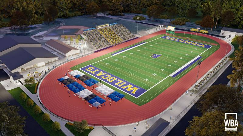 Columbia High Schools' Wildcat Stadium at Payton Field will soon have a new look.