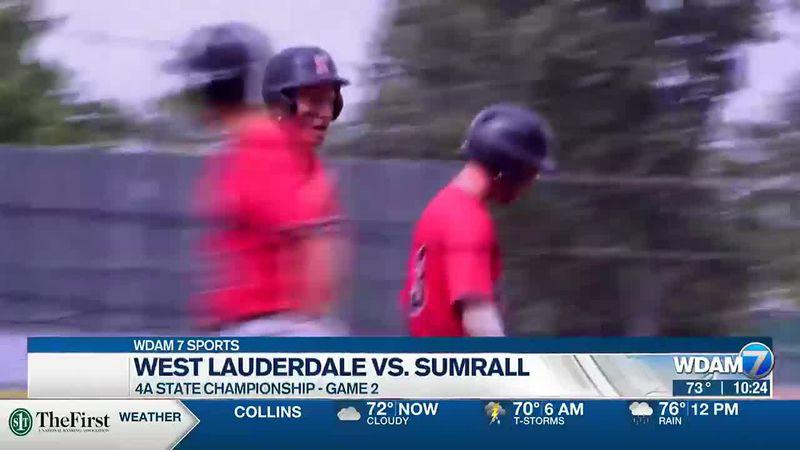 West Lauderdale vs. Sumrall baseball