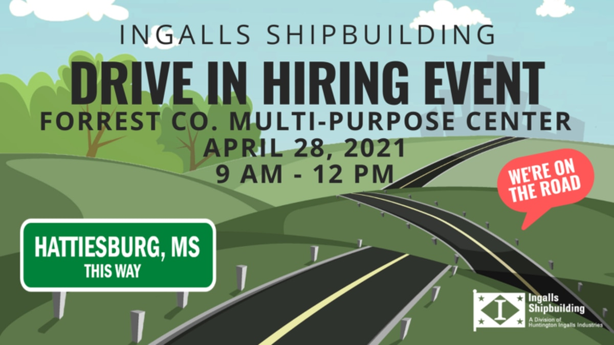 Ingalls Shipyard is looking to fill open positions, including ship fitters, electricians,...