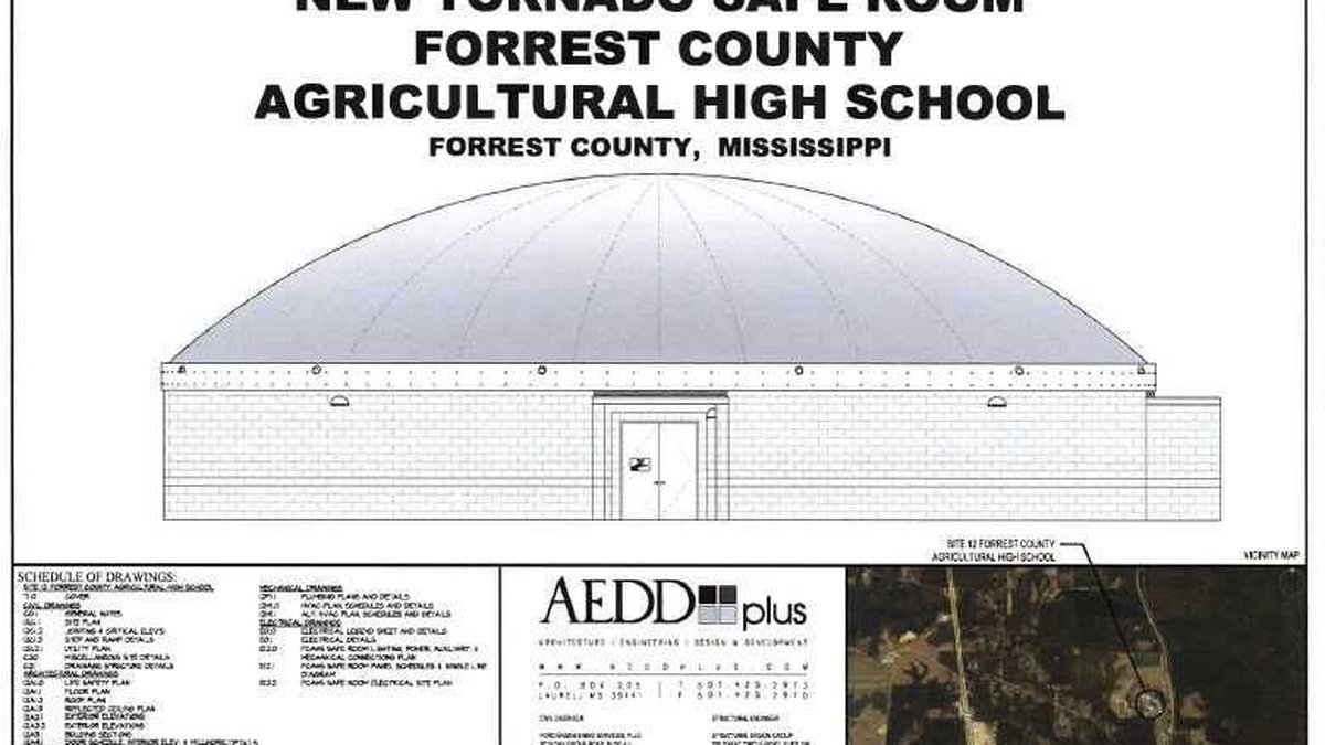 Plans for a safe room/storm shelter that will be located at the Dixie Attendance center were a...