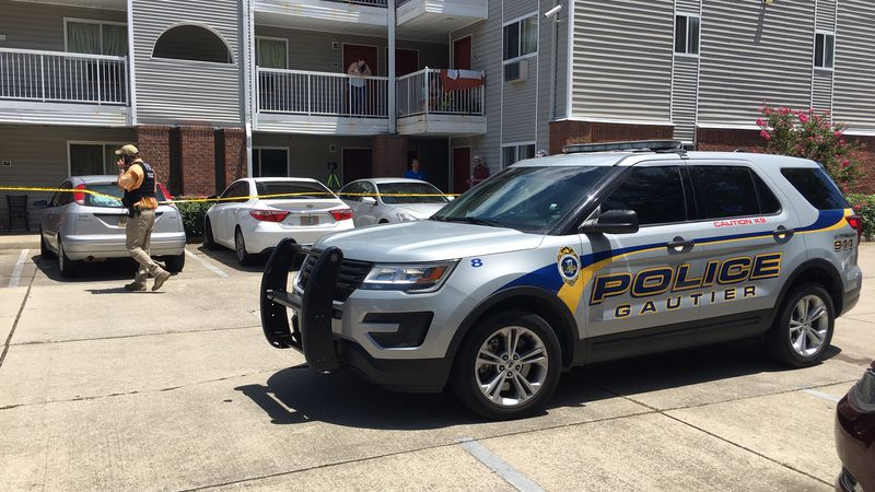 Multiple agencies responded after a law enforcement officer was shot in Gautier Tuesday but the...