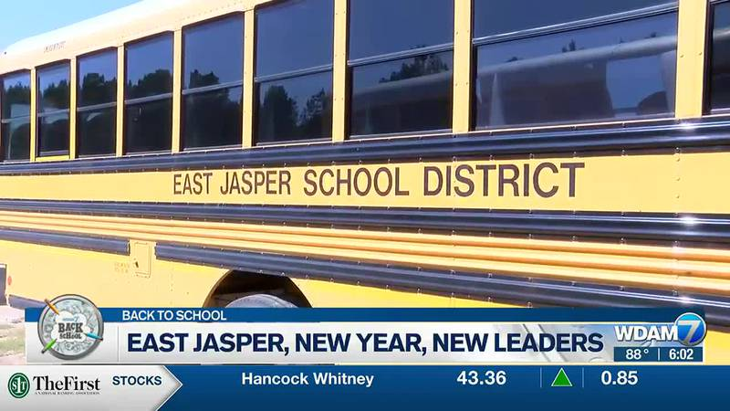 The East Jasper School District will begin the year with some new leaders.