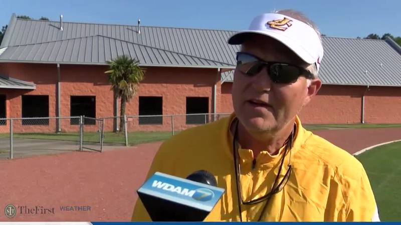 Jones College head coach Steve Buckley