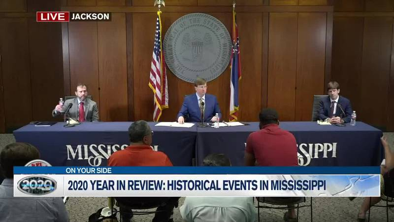 2020 Year in Review: Historical events in Mississippi