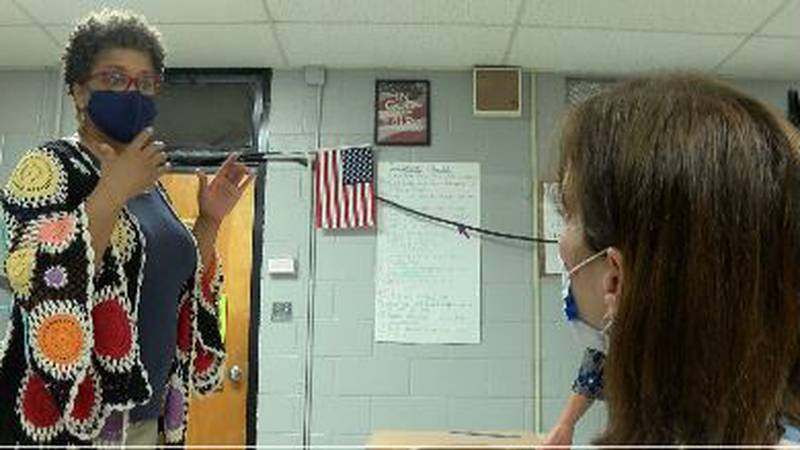 A group in Lamar County is working to fill in those gaps and help teachers like Cindy...