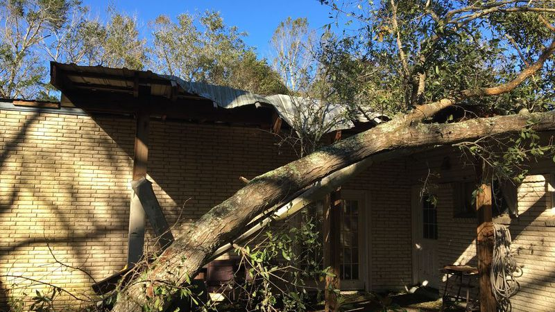 Damage after Zeta in Pass Christian, MS.