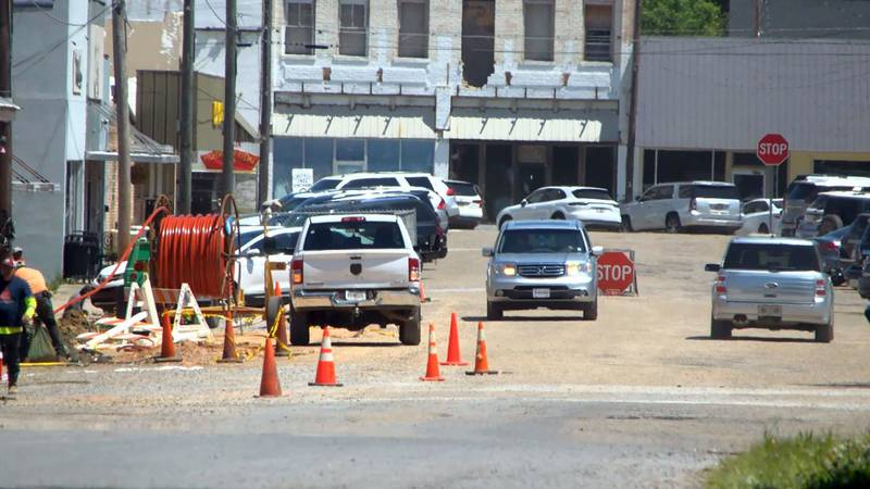 Work is expected to be completed on the new paving project in about 45 days.