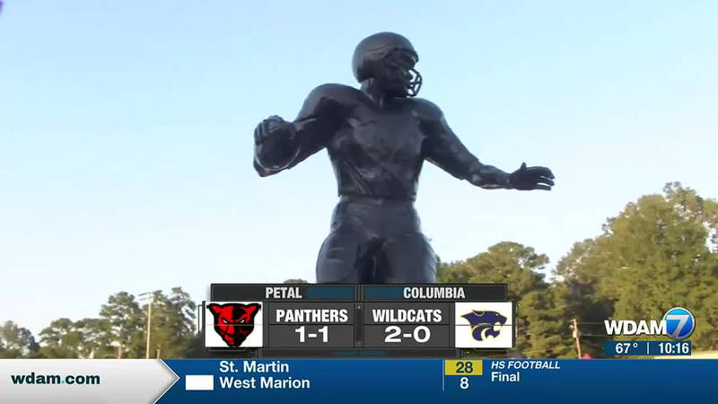The Petal Panthers got past host Columbia High School, 14-7, Friday night in the inaugural...