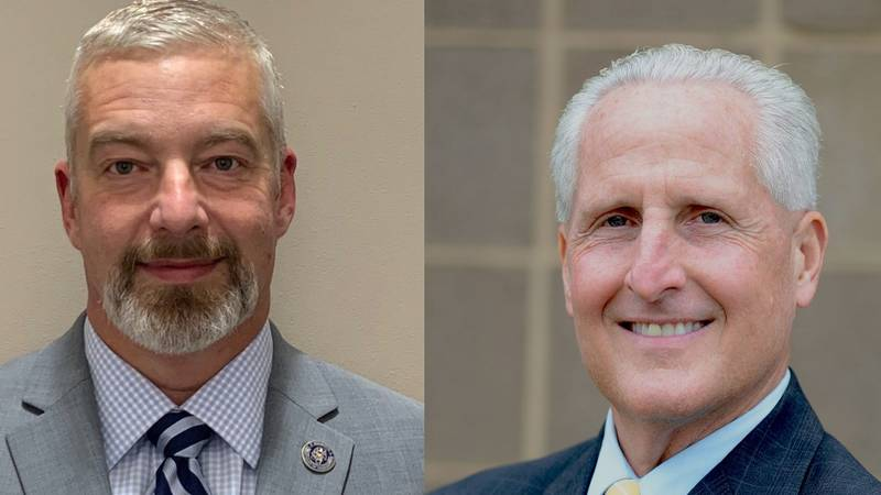 Marc McClure (L) and Ronald King (R) recently received promotions within MDOC.