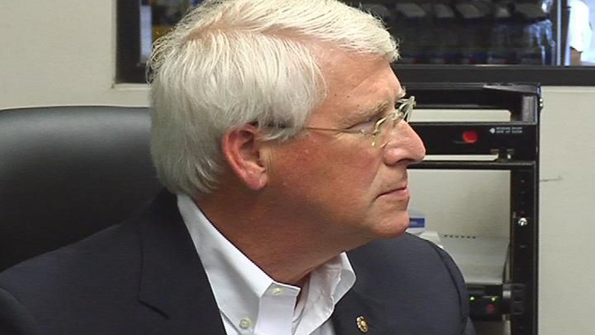 Sen. Roger Wicker (R-Miss.) was unhappy with changes made to the 2020 Navigable Waters...