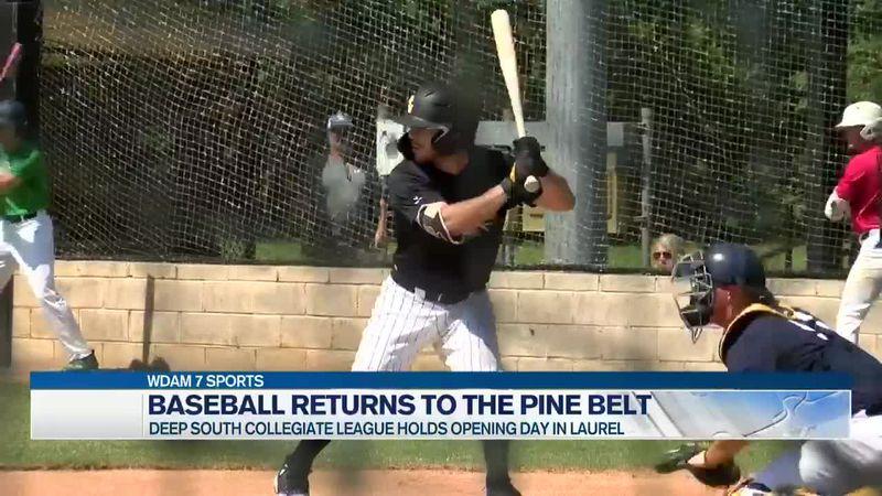 Baseball returns with Deep South Collegiate League