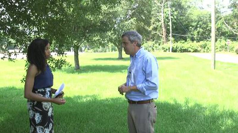 Mayor Toby Barker joined WDAM on a walk-through of Hattiesburg to talk about the next four years.