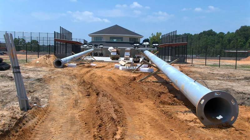 A new $8 million softball complex is under construction in Laurel.