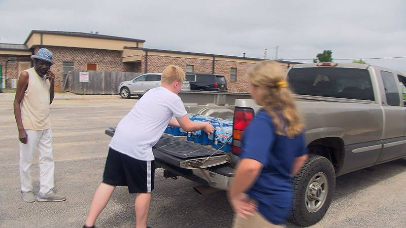 Members of the community are urged to bring their donations to the courthouse in Waynesboro...