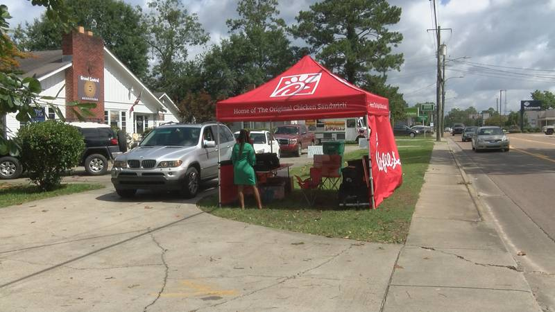 The pop-up Chick-fil-A location will be open every Tuesday for the next couple of weeks.
