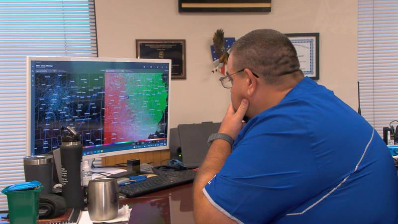 Officials in Jones County are keeping a close eye on the weather.
