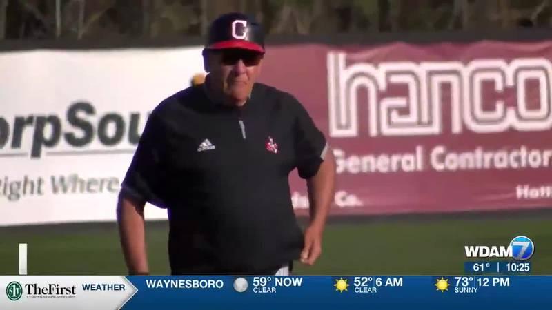 William Carey head coach Bobby Halford.