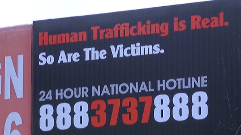 The national human trafficking help line is 888-373-7888