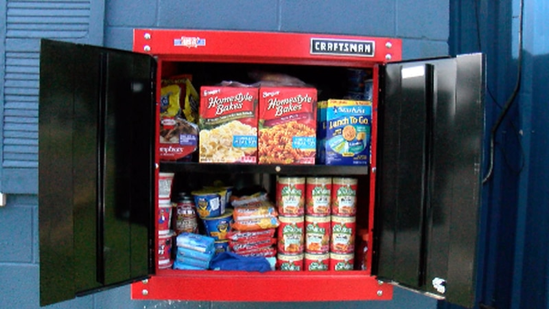 One church in Hattiesburg came up with a creative way to feed their community.